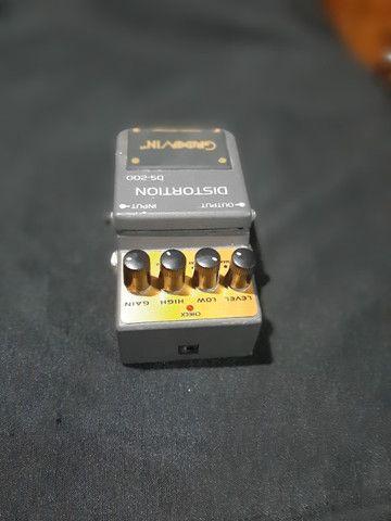 Pedal De Efeito Ds 200 Para Guitarra Groovin Distortion - Foto 3