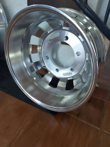 Roda de Alumínio Ital R22,5 e R17,5 - Produto Novo - Foto 7