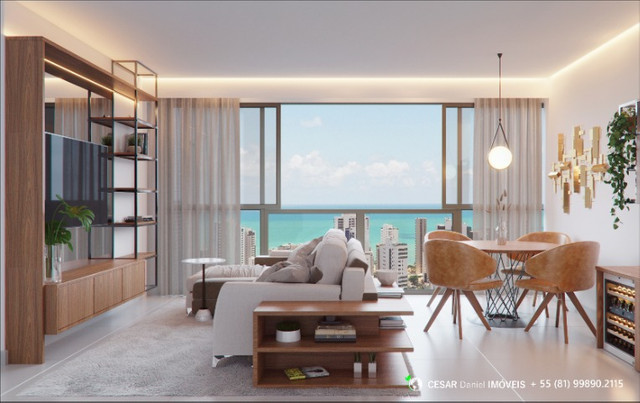 Terrazza | 3 Quartos (1 suíte) | Apartamentos a venda em Boa Viagem - Foto 8