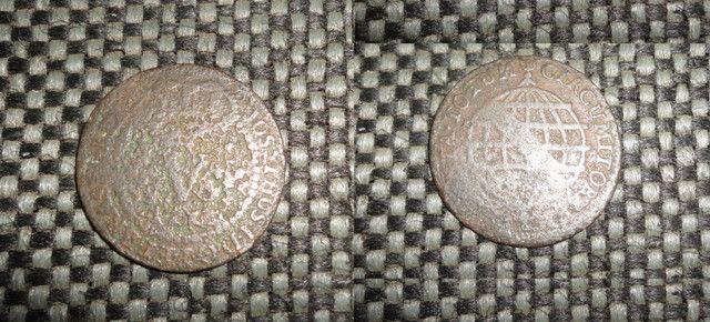 Conjunto de moedas de Réis