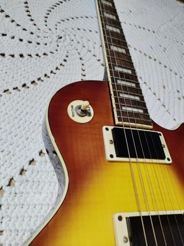 Guitarra Waldmar muito nova com capa - Foto 4