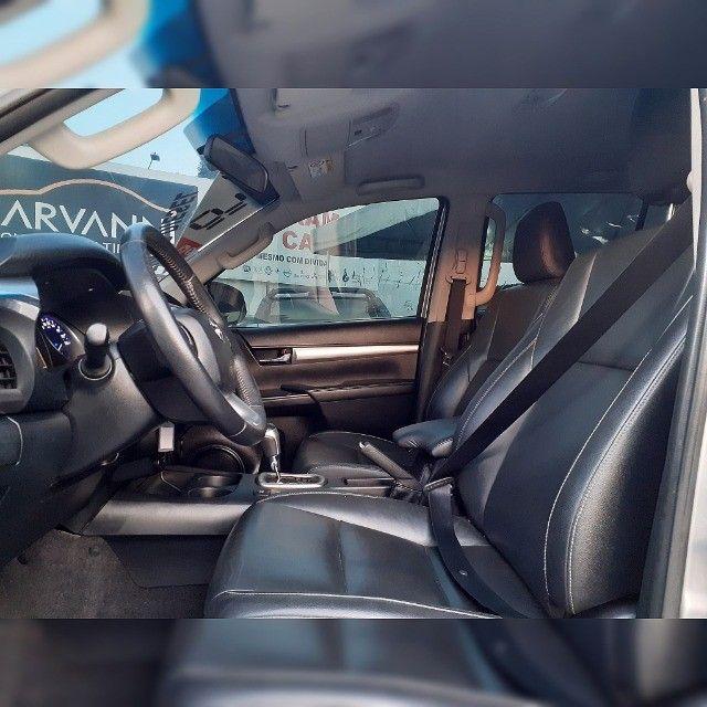 Toyota Hilux Cd Srv Automático 2016 Turbo Diesel  - Foto 8