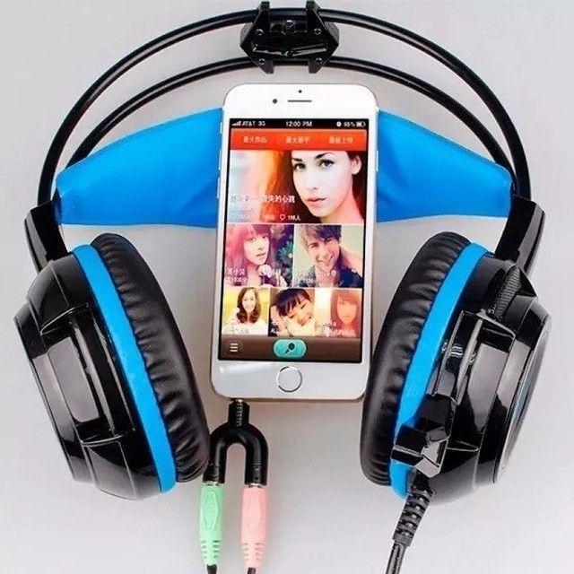 Adaptador Fone Headset Microfone Lapela P2 X P3 Notebook Pc - Foto 4