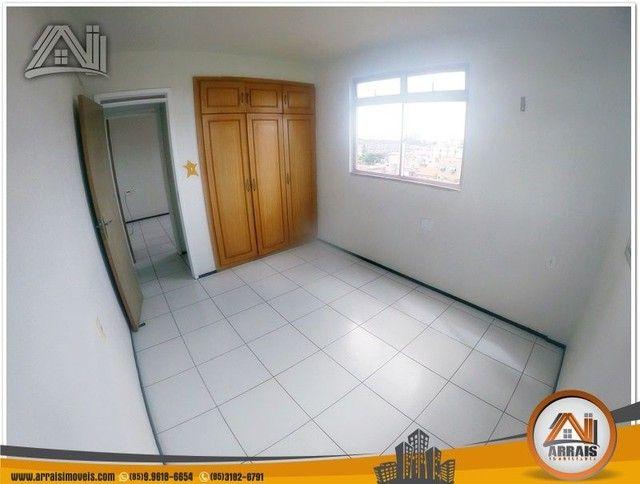 Apartamento com 3 dormitórios à venda, 118 m² por R$ 300.000,00 - Vila União - Fortaleza/C - Foto 6