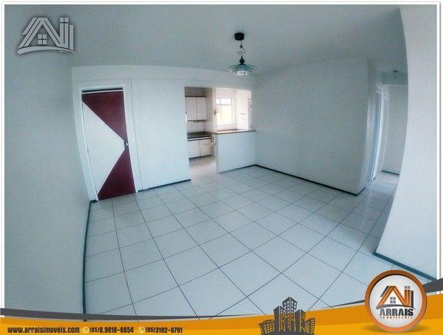 Apartamento com 3 dormitórios à venda, 118 m² por R$ 300.000,00 - Vila União - Fortaleza/C - Foto 3