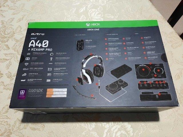 Xbox Headset Astro A40 Tr MixAmp Pro Tr - Foto 2