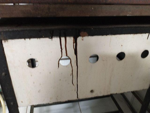 Fogão de ferro com tacho - Foto 2