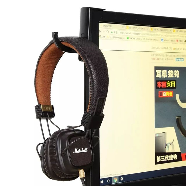 Suporte Para Headphone Headset Gamer Monitor Tv Tela Fone - Foto 3