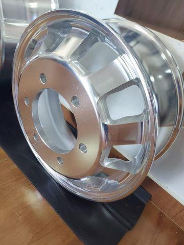 Roda de Alumínio Ital R22,5 e R17,5 - Produto Novo - Foto 5