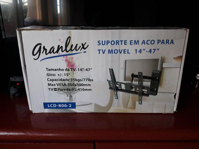 """Suporte em Aço para Tv 14"""" à 47"""" - Granlux"""