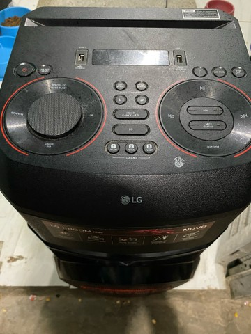 Caixa de som acústica LG Xboom - Foto 3