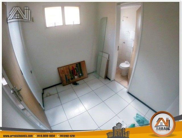 Apartamento com 3 dormitórios à venda, 118 m² por R$ 300.000,00 - Vila União - Fortaleza/C - Foto 11