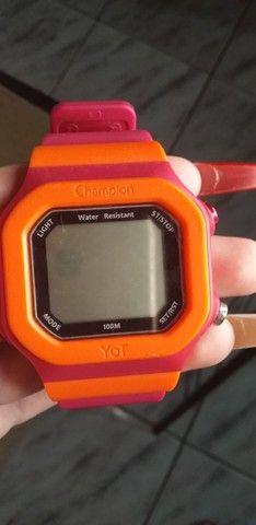Relógio digital Champion Yot - Foto 5