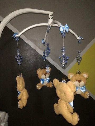 Móbile decorativo de ursinhos - Foto 3