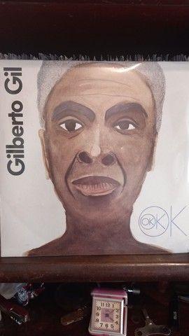 Disco de vinil Gilberto Gil OK OK OK. ano de 2018 LACRADO.