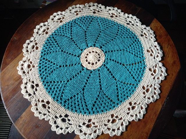 Centros de mesa croche - Foto 6