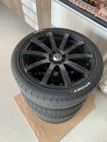 Rodas 18 com pneus - Foto 2