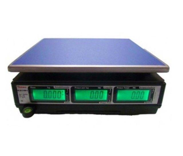 Balança Digital 20kg Recarregável Energia Bivolt Com Selo Inmetro - Foto 3