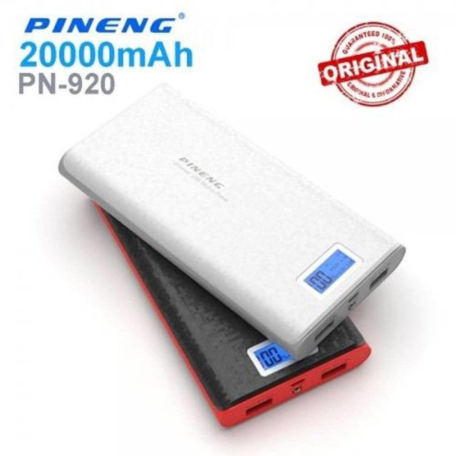 Bateria Externa Carregador Portátil Celular Pineng