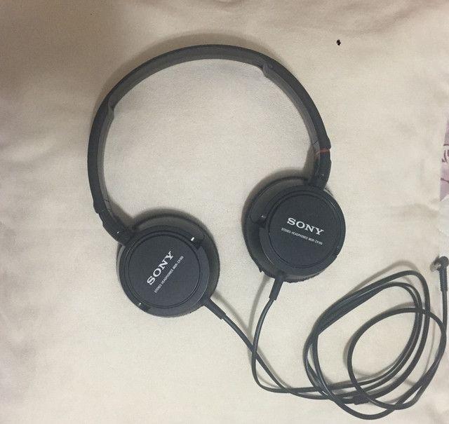 Fone headset SONY seminovo