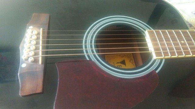 Violão Eagle 12 cordas Revisado por Luthier - Foto 2