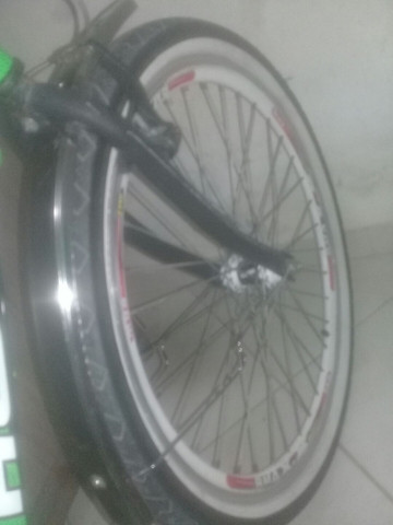 Bicicleta peças novas montei mais precisarei vender pouco usada , em perfeito estado! - Foto 3