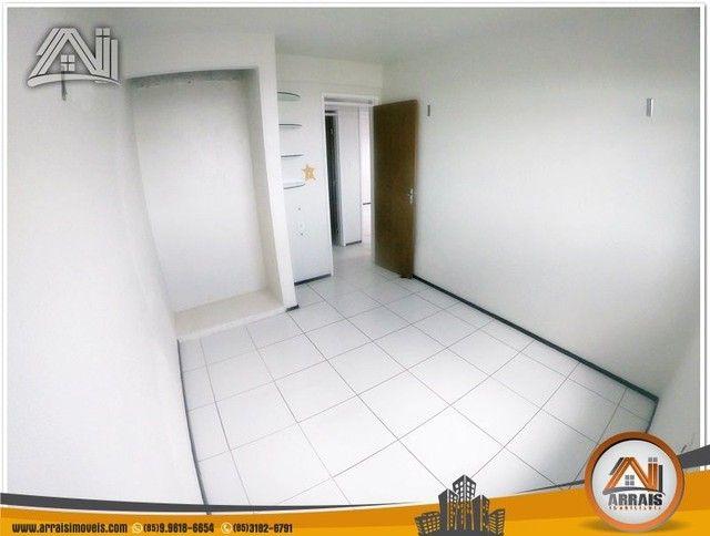 Apartamento com 3 dormitórios à venda, 118 m² por R$ 300.000,00 - Vila União - Fortaleza/C - Foto 8