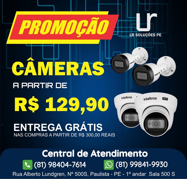 Câmeras HD