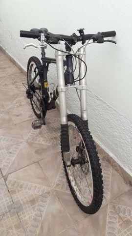 Bicicleta gt so hoje baixei o preco metade do valor da nota - Foto 2