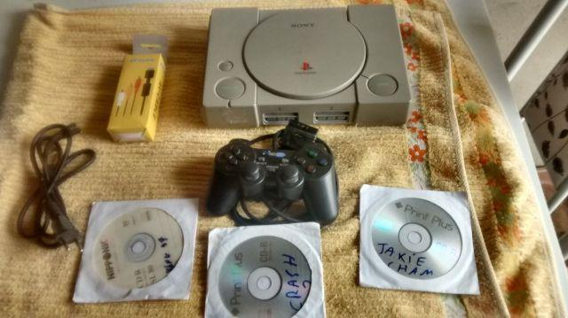 Playstation 1 Ps1 Fat Completo Fonte Bivolte 110/220