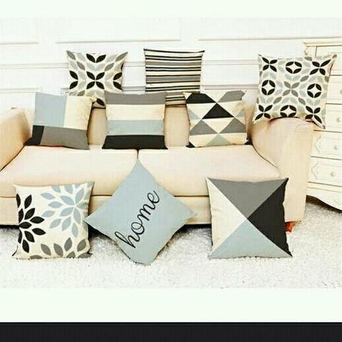 Almofadas para seu sofá