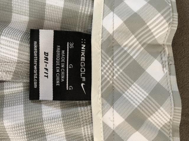 Bermuda xadrez Nike golf original importada nova - Foto 2