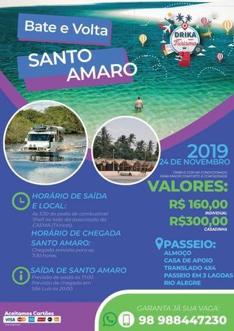 Passeio - Viagem Lagoa do Cassó, Santo Amaro, Belágua, Cachoeira do Arruda - Foto 2