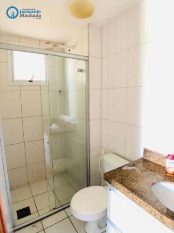 Apartamento com 3 dormitórios à venda, 115 m² por R$ 585.000 - Cocó - Fortaleza/CE - Foto 15