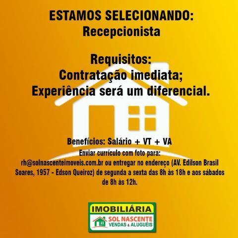 Vagas de Emprego - Imobiliária Sol Nascente