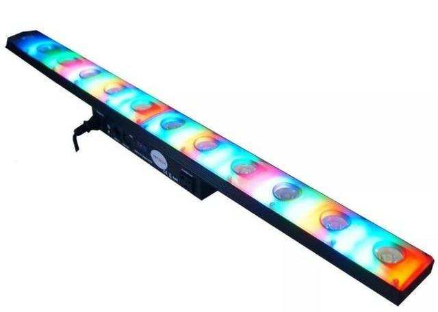 Ribalta 12 Leds X 3w 250v Efeitos Iluminação Entrada Dmx - 82540