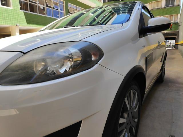 Palio Sporting 2013/2014 Dual lógica + Teto + 4 pneus zeros+ revisado para viagem - Foto 11