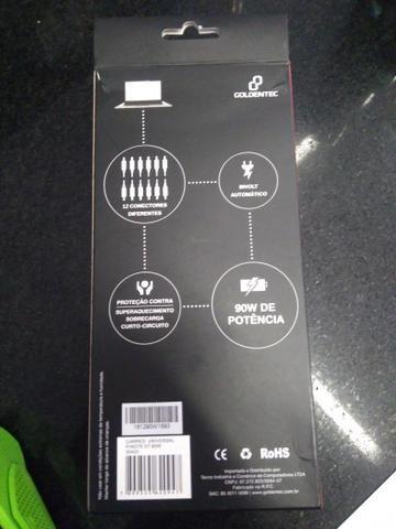Carregador universal para notebook 90w - Foto 2