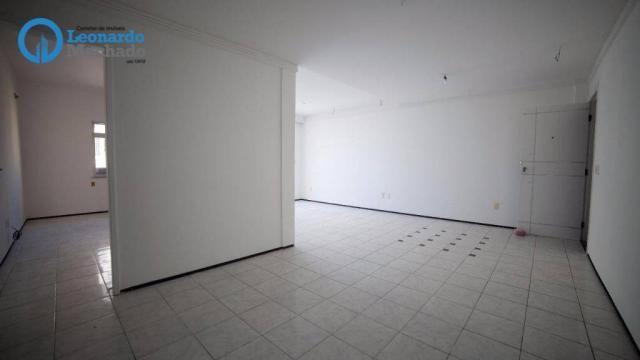 Apartamento com 3 dormitórios à venda, 99 m² por R$ 350.000 - Cocó - Fortaleza/CE - Foto 2