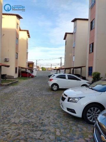 Apartamento com 2 dormitórios à venda, 50 m² por R$ 139.000 - Damas - Fortaleza/CE - Foto 12