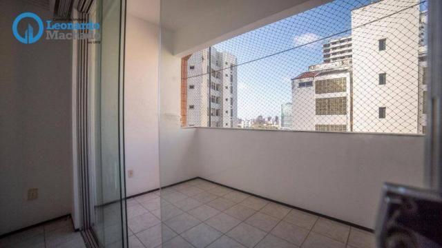 Apartamento com 3 dormitórios à venda, 99 m² por R$ 350.000 - Cocó - Fortaleza/CE - Foto 6