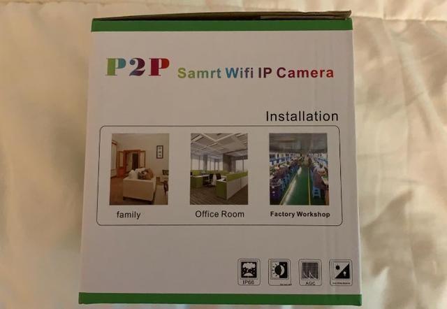 Câmera De Segurança Ip Yandog HD 720p Sem Fio Wifi - Foto 5