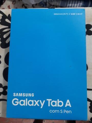 Tablet galaxy tab a com s pen smp550