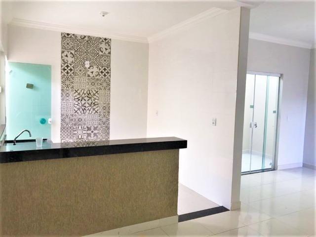 VN215 - Casa Nova com Fino acabamento no Bairro Novo Mundo - Vida Nova - Foto 3