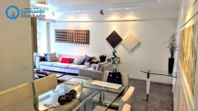 Apartamento com 3 dormitórios à venda, 126 m² por R$ 550.000 - Aldeota - Fortaleza/CE - Foto 3