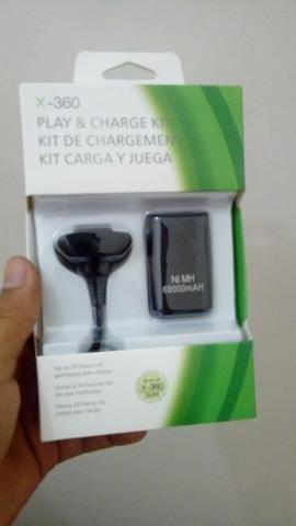 Bateria para Controle Xbox 360-(Loja na Cohab)-Faça Seu Pedido!