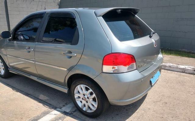 Fiat Palio ELX 1.4 - FLEX 8V 4P - Ano 2008/2009 - Completo - Foto 5