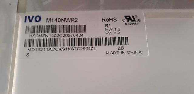"""TELA LED 14"""" 40PIN ( PEGA EM SIM+, Acer, Philco.) - Foto 4"""