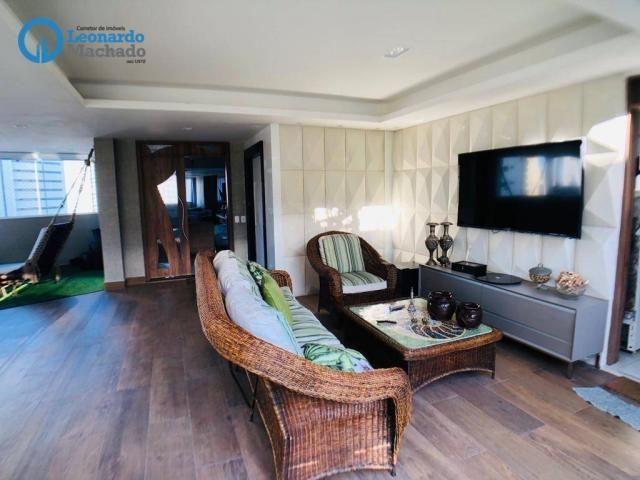 Apartamento Cobertura com 4 dormitórios à venda, 346 m² por R$ 2.500.000 - Meireles - Fort - Foto 14
