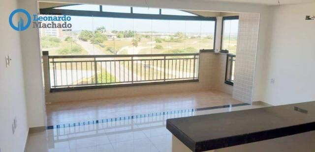 Apartamento com 3 dormitórios à venda, 78 m² por R$ 510.000 - Praia do Futuro - Fortaleza/ - Foto 2